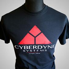 Cyberdyne Systems Terminator II Retro Movie T Shirt Skynet T800