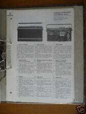Service-Manual Siemens RK 310 Radio,ORIGINAL