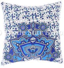 Indian Mandala Pillowcase Set Boho Square Cushion Cover Cotton Throw Sofa Pillow