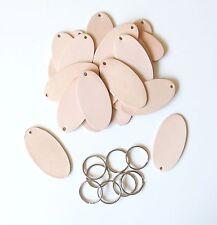 Schlüsselanhänger mit Schlüsselring Naturleder Blankleder Bastel Leder punzieren
