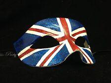 National Holiday US UK Canada Australia Flag Masquerade Ball half face Eye Mask