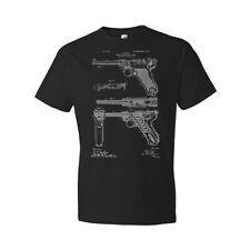 WW2 Luger Pistol Shirt WW2 Shirt War History Gun Collector Gift Military Apparel