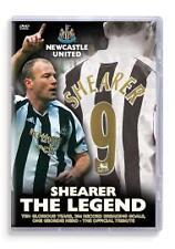 Newcastle United FC - Alan Shearer Legend Dvd New & Factory Sealed