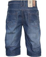 JACKS 50060 lange Herren Jeans Shorts Med Vintage
