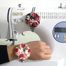 Pumpkin Needle Pin Cushion Holder Wrist Pincushion DIY Craft Sewing Supplies US