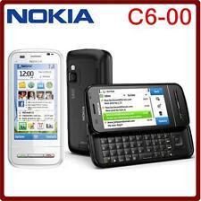 Original Nokia C6 C6-00 Slider Cell Phone 3G Wi-Fi GPS Bluetooth 5MP Symbian