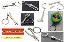 """Llavero de Herramientas, destornillador, llave, sierra... """"Envío desde España"""""""