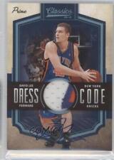 2009-10 Panini Classics #11 David Lee New York Knicks Auto Basketball Card