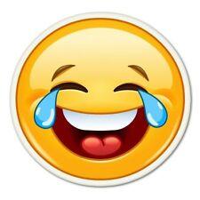 Laughing Emoji Car Vinyl Sticker - SELECT SIZE