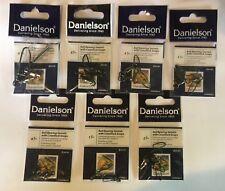 Danielson Fishing Ball Bearing Swivel w/ Coastlock Snap Black - Choose 2700SPBLK