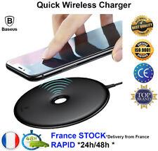 Baseus Qi carregador sem fio rápido 15w iPhone Xs Xs max X 8+ Samsung S 8 9 Nota
