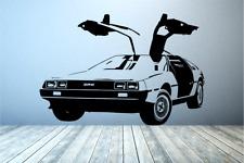 DeLorean DMC Gull Wing Back to the future car Vinyl wall decal sticker
