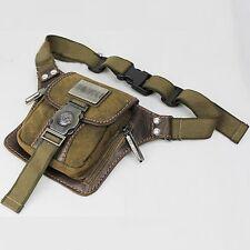 Vintage Men's Canvas Bumbag Handbag Satchel Shoulder Fanny Pack Belt Waist Bags