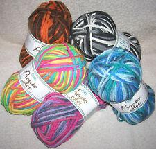 4,50€ / 100 gr Doux Fil à tricoter rapide de Rellana PRONTO COULEUR
