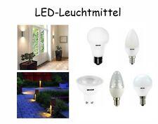 LED Leuchtmittel E27, E14, GU10, 5.5W,6W,9.5W,15W dimmbar/nicht dimmbar
