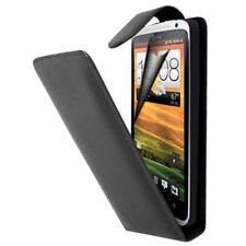 Piel Artificial Funda Protectora de Móvil con Tapa para HTC One S / Edición