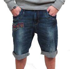 VSCT Harrison Denim Jeans Shorts blue Kurze Hose Antifit Bermuda Short Crotch