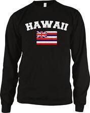 Hawaii Flag Hawai?i Islands of Aloha State Hawaiian Pride Long Sleeve Thermal