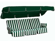 Ricambio per dondolo da giardino 4 posti di Scab Design fantasia rigato verde