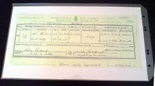 Archivo ácido libre Dmo foolscap Certificado Bolsillos