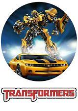 Tortenaufleger---Transformers----Geburtstag--Party---Fondant //Oblate