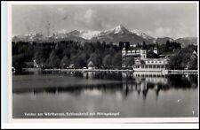 VELDEN Wörthersee Kärnten Österreich Dt. Reich 1939 Schloss Hotel Mittagskogel