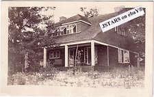 c. 1915 LAKE HURON, MI, SHADOWS CAMP POSTCARD RPPC