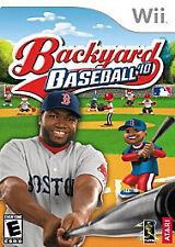 Backyard Baseball 2010, (Wii)
