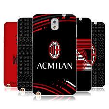 Officiel AC Milan 2018/19 Crest PATTERNS GEL souple Coque Pour Samsung Téléphones 2