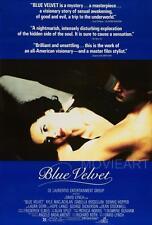 BLUE VELVET MOVIE POSTER FILM A4 A3 ART PRINT CINEMA