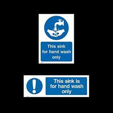 Ciò Sink per lavaggio a mano solo Firmare, Adesivo-Tutte le Taglie e materiali (misc26 / 55)