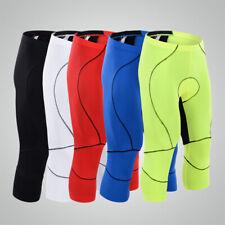 Cycling pants Bike Bicycle Pants 3/4 Leg Cycling Shorts Racing Tights Short Pant