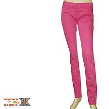 Jeans slim stretch rose LE TEMPS DE CERISES PASSADINA femme