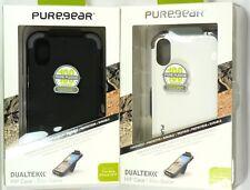 for iPhone X/Xs, PureGear DualTek Extreme Shock HIP Case/Holster,Great Grip