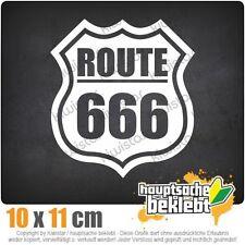 Route 666 csf0151 10 x 11 cm JDM  Sticker Aufkleber