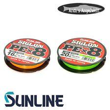 Sunline Siglow PE x8 150m - verschiedene Farben & Stärken - Made in Japan - NEU