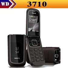 Luxury Original Nokia 3710 Fold (UNLOCKED) Black&Pink Cellular Phone GSM MP3