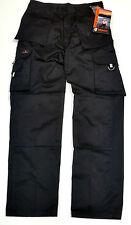 Constructores Carpinteros plomeros Resistente Lona Pantalón De Trabajo Talla Pantalones Work Wear