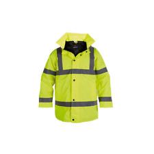 briggs HJ03YL Hi Vis safety Jacket Yellow s, m, l, xl, xxl