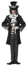 Dark Mad Hatter Mens Gothic Halloween Costume