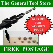 Counterbore Broca Para 10 mm y 12 mm Roble Tapones recortes agujero del tapón Y Agujero Piloto