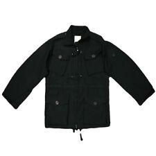 Blue Castle MILITARE giacca lavaggio LOOK CON MOLTE TASCHE nero