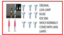 Dimmable light bulb R39 30w SES E14 Small Edison Screw Reflector Lava lamp Bulb.