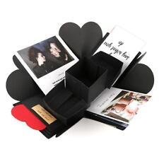 DIY Surprise Love Explosion Box Gift for Valentines Day Scrapbook Photo Album