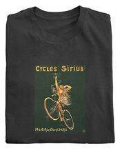 Cicli Sirius Annuncio T-shirt di cotone