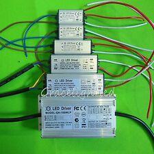 Waterproof Power Supply LED Driver for 3x3w 10w 20w 30w 50w 100w SMD LED Light
