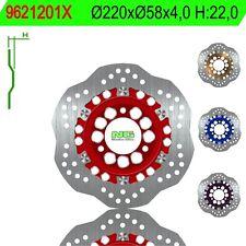 9621201X: NG BRAKE DISC Disco de freno NG ondulado 1201X Ø220 x Ø58 x 4