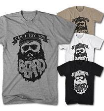 Herren T-Shirt einen Bart kaufen Hipster Bart Fashion Viking Neu S-5XL CB1016