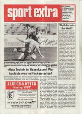 BL 91/92 VfB Stuttgart - 1. FC Kaiserslautern