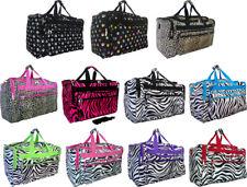 "Women's 19""/22"" Fashion Animal Print Gym Dance Cheer Travel Carry-on Duffel Bag"